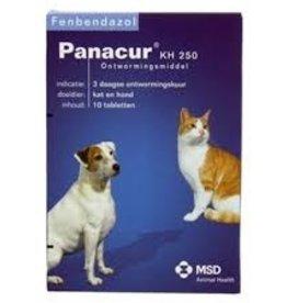 MSD Panacur KH hond en kat 10 tabletten