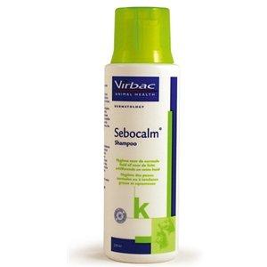 Virbac Sebocalm shampoo 250 ml - verzachtende hype-allergene shamp voor honden en katten