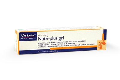 Virbac Virbac Nutri-plus gel 120 gr - aanvullende vitaminen, mineralen en spoorelementen voor honden en katten