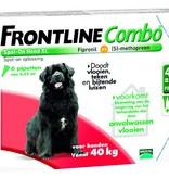 Merial Frontline Combo XL voor honden van 40kg tot 60kg - tegen vlooien en teken - 3 of 6 pipetten