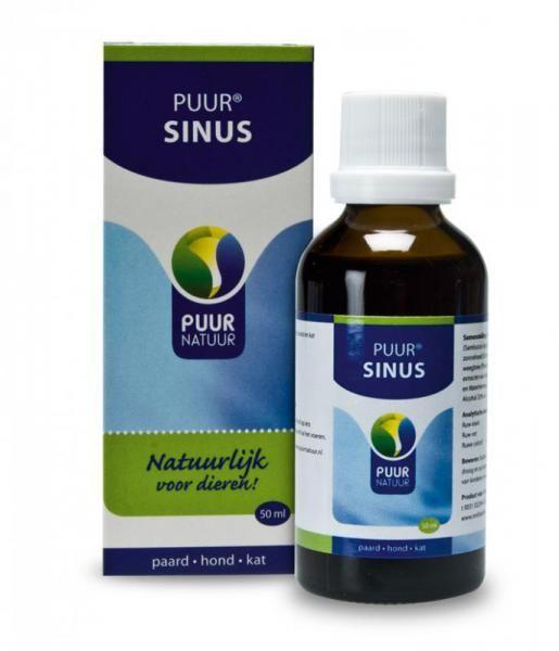 NML Health PUUR Sinus 50ml - voor een vrijere ademhaling bij hond, kat en paard