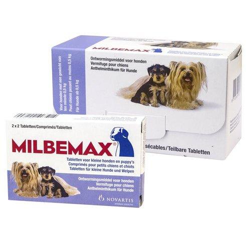 Elanco Milbemax ontwormingstabletten - voor honden en puppies van 0,5 tot 10kg