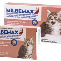 Elanco Milbemax ontwormingstabletten - kittens en kleine katten tot 2 kg