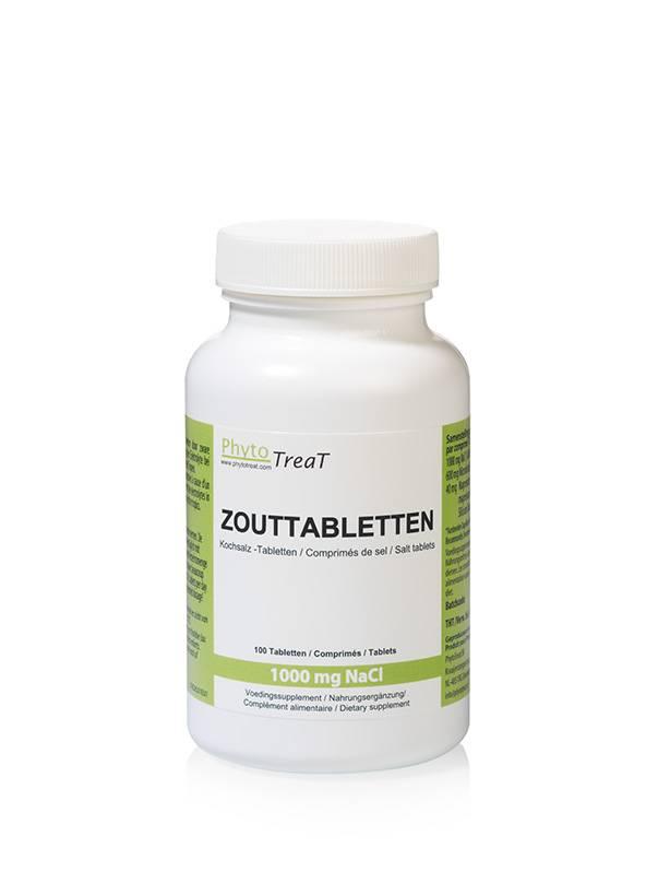 Phytotreat Phytotreat Natrium Chloride zouttabletten - voor een optimale elektrolytenbalans bij de hond