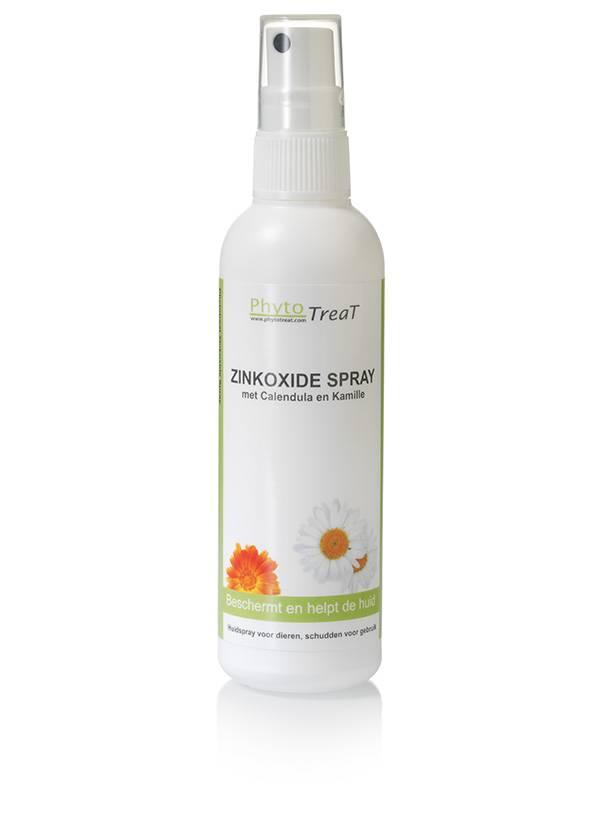 Phytotreat Phytotreat Zinkoxide spray - 100ml - huidlotion die de huid beschermt en helpt - voor honden en katten