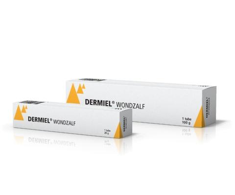 AST Farma AST Farma Dermiel wondzalf - verzorgende wondzalf met honing - verkrijgbaar in 20gr en 100gr