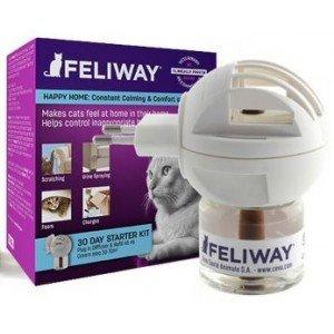 Ceva Feliway verdamper 48 ml - geeft met fermonenen katten een vertrouwd en veilig gevoel