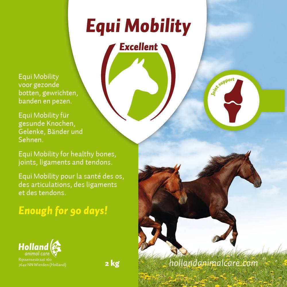 Excellent Excellent Equi Mobility - gewrichtsvoedingssupplement bevordert de opbouw en aangroei van kraakbeen