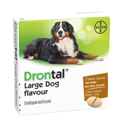 Bayer Drontal Large Dog Flavour