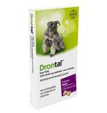 Bayer Drontal Dog Tasty ontwormingstabletten voor honden vanaf 5 kg