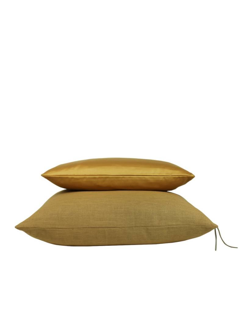 Set Of Cushions In Yellow Tones