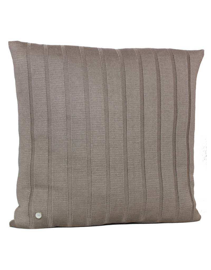 Set Of Cushions And Throw In Brown Tones