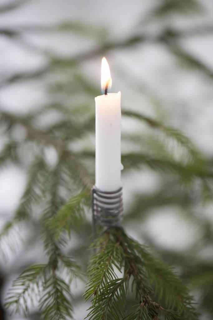 Ib laursen kerzenhalter f r den tannenbaum lille scanhus for Tannenbaum kerzenhalter