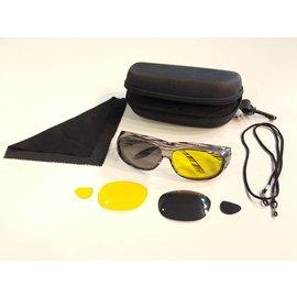 Sonnenüberbrille UV400 Schutz+Wechselgläser 4375-ZE
