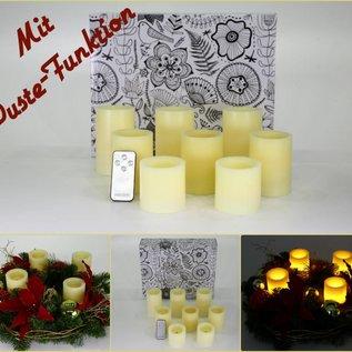 8er Set Kerzen mit Pustefunktion 05194