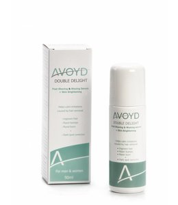 Avoyd AVOYD DOUBLE DELIGHT Post Shaving & Waxing Serum + Skin Brightening 90 ml