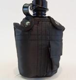 Miltec-Sturm Veldfles met mok zwart