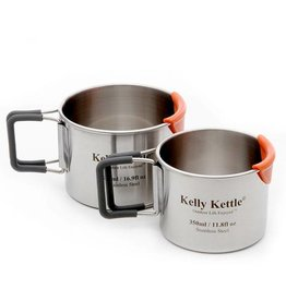 Kelly Kettle Camping Cup set 350 & 500 ml