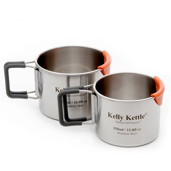 Kelly Kettle Kelly Kettle Camping Cup set 350 & 500 ml