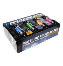 Sawyer Mini Waterfilter 4 stuks in 4 kleuren [SP124]