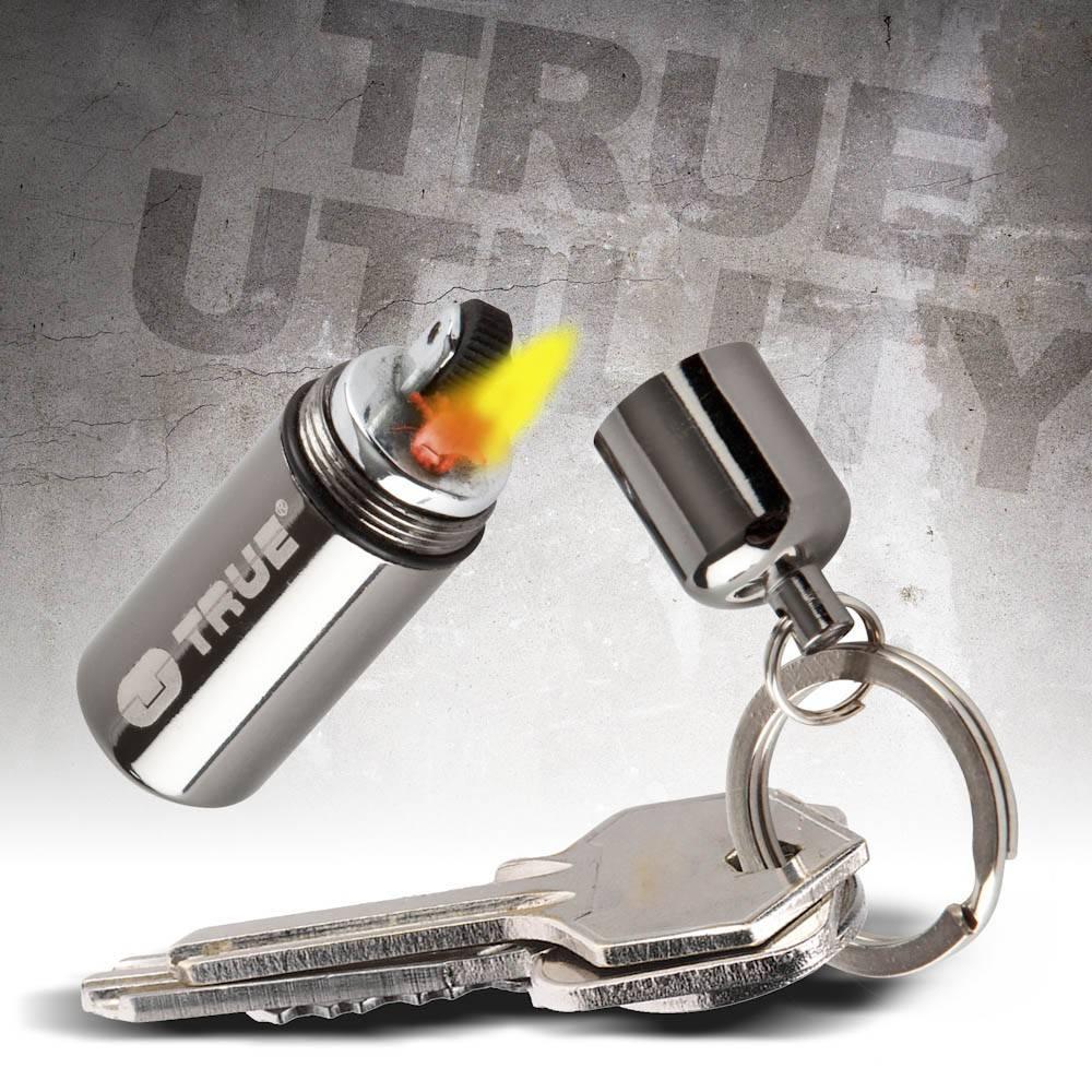 True Utility FireStash Peanut lighter, mini aansteker op benzine