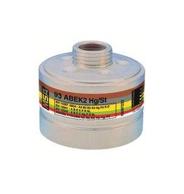 MSA combinatiefilter 93 A2B2E2K2 HG P3R