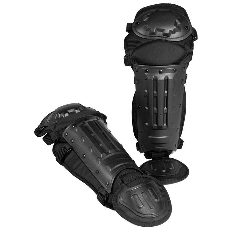 Miltec-Sturm Body armor anti riot been beschermers