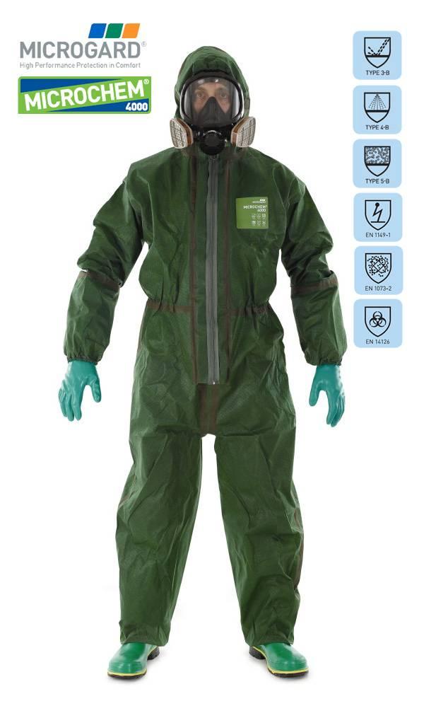 Microchem 4000 NBC kleding
