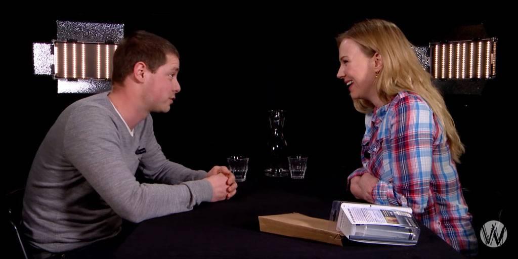 Ancilla interview over Preppen bij Cafe Weltschmerz