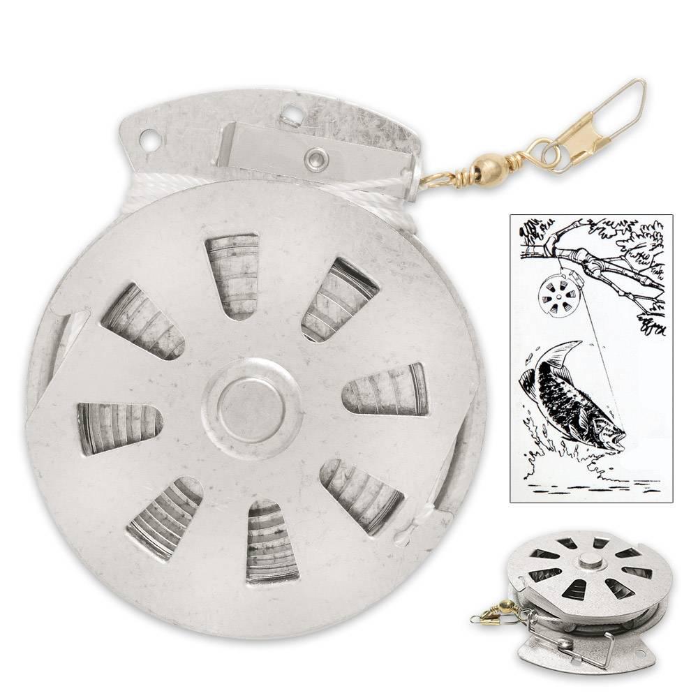 sales@yoyoreel.com Yoyo automatic fishing reel / automatische vislijn
