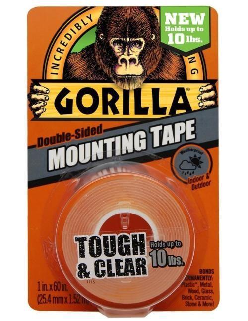 Gorilla Gorilla dubbelzijdige mounting tape