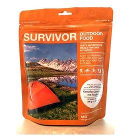Survivor Outdoor Food Rundvlees aardappel groenten stoofpot