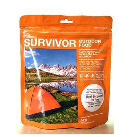 Survivor Outdoor Food Rundvlees stroganof met rijst