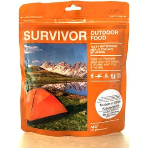 Survivor outdoor food Survivor Outdoor Food Noodles met kaassaus