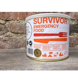 Survivor Outdoor Food Spagetti Bolognese met rundvlees in blik