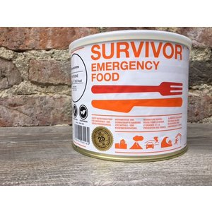Survivor outdoor food Survivor Outdoor Food Spagetti Bolognese met rundvlees in blik