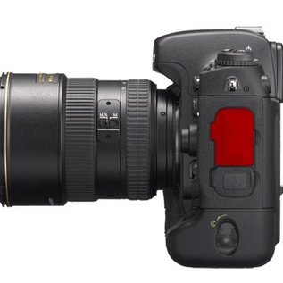 Nikon Onderdelen Rubber klepje voeding / video D2