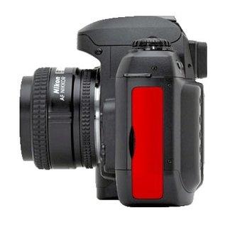 Nikon Onderdelen Rubber klepje USB / voeding / video D100