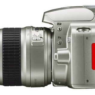 Nikon Onderdelen Rubber klepje USB / video zilver D40