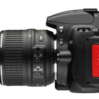 Nikon Onderdelen Rubber klepje USB / video out D5000