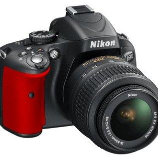 Nikon Onderdelen Rubber bekleding Grip D5100