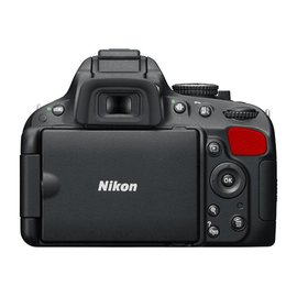 Nikon Onderdelen Rubber bekleding Achter D5100