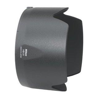 Nikon Accessoires HB-31 zonnekap voor de Nikon AF-S DX Zoom-Nikkor 17-55mm f/2.8G IF-ED