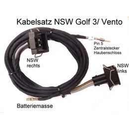 Kabelbaum Kabelsatz Nebelscheinwerfer NSW für VW Golf 3 III, Polo 6N