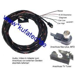 TV-ontvanger w / CAN nieuwe - Kabel - VW MFD / AUDI RNS-D