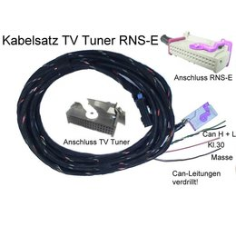 TV-Receiver w / CAN - Harness - Audi RNS-E