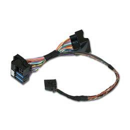 Kabelset - Video in beweging - VW MFD2, RNS510 / Skoda / Seat / Bentley