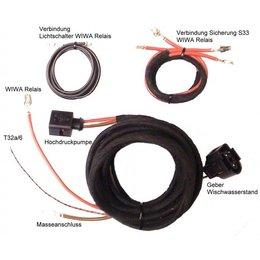 Headlight Washer System (w/sensors) - Harness - VW Passat 3B