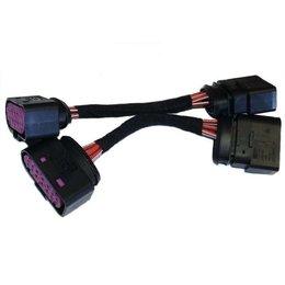 Xenon / HID Koplampen -Adapter-Audi A4 B6 met A4 B7 Headlight