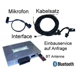 """Bluetooth-Freisprecheinrichtung w / SDS- Retrofit -Audi Q7 4L- """"Nur Bluetooth"""